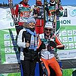 Winners-ladies on the podium