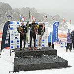 Hoppet women podium