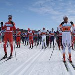 1 Petter Northug at the start