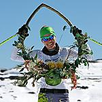 Esther wins Kangaroo Hoppet 2011 at Falls Creek pic Chris Hocking