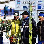 Hoppet men podium