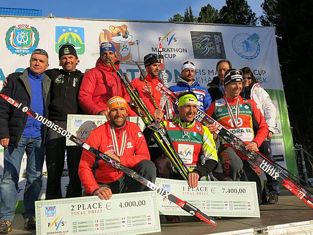 Petr Novak (CZE) winner of the overall FIS Marathon Cup 2014/15!