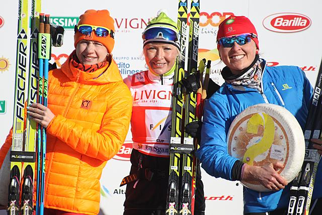 Riitta-Liisa Ropopnen (FIN) realises the hat trick: 3 consecutive wins at La Sgambeda!