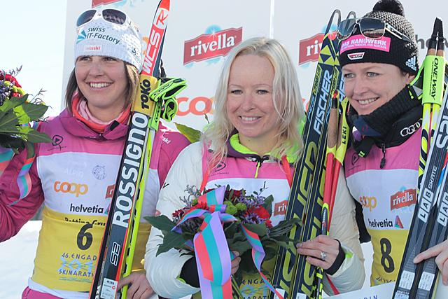 Roponen (FIN) wins the Engadin Skimarathon 2014!