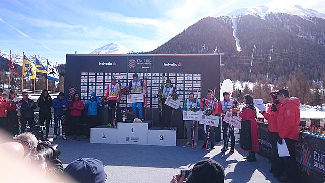 Chernousov (RUS) & Faivre-Picon (FRA) win the Engadin Skimarathon 2015!