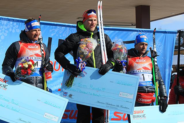 Reichelt (GER) wins the American Birkebeiner! 2nd Paredi (ITA), 3rd Bonaldi (ITA)!