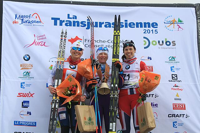 Tatjana Mannima (EST) wins La Transju'Classic on the women's side!