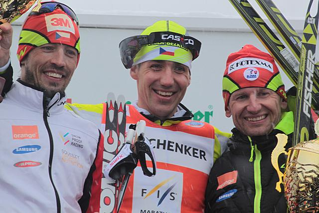 Novak (CZE) wins the 40th Dolomitenlauf, 2nd Koukal (CZE), 3rd Bajcicak (SVK)