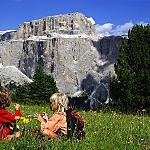 Val di Fassa - Sella - Stop and sightsee the memorable landscape