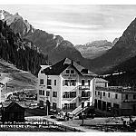 Hotel Bellavista - Canazei - Historical picture od the Hotel Bellevue