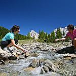 Val di Fassa and Nature - ...and at the end we reached a fresh mountain river... this is Val di Fassa