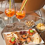Enjoy the aperitif Aperol spritz