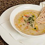 The savoury barley-soup