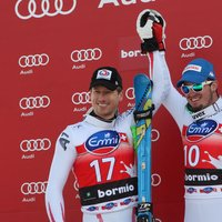 Dominik Paris and Hannes Reichelt: a podium for two - Credits: Pentaphoto
